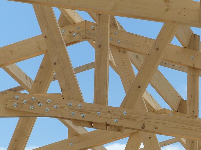 montáž dřeva
