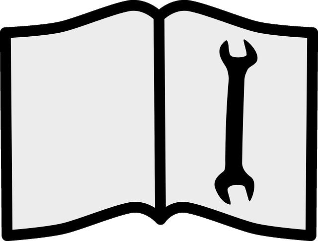 nářadí na knize