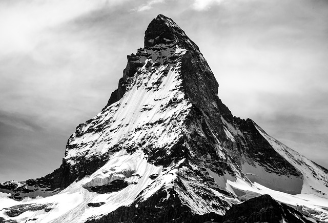 matterhorn švýcarsko